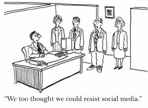 You will be absorbed by social media