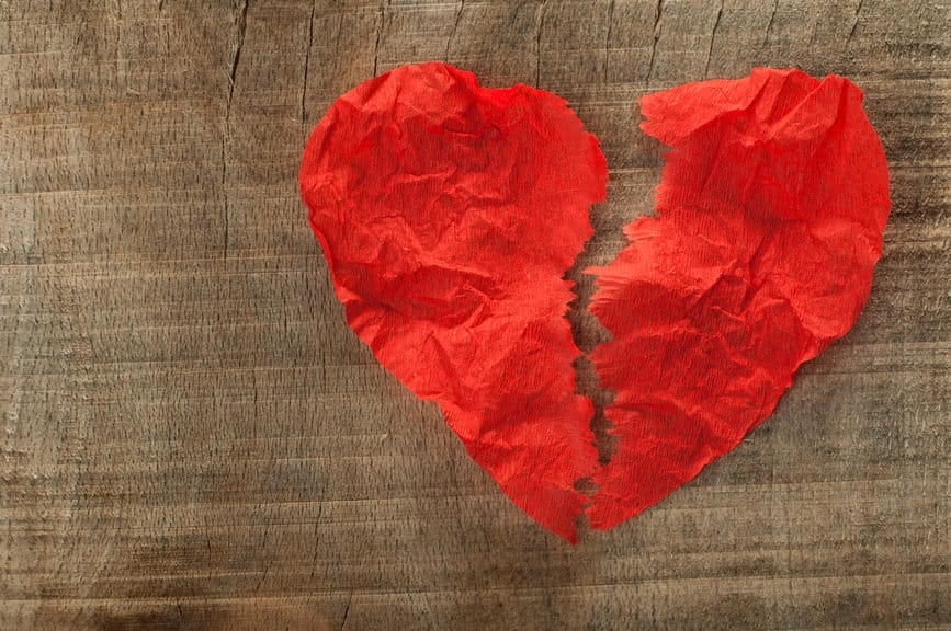Heartbroken After a Break Up? 3 Steps to Ease the Pain