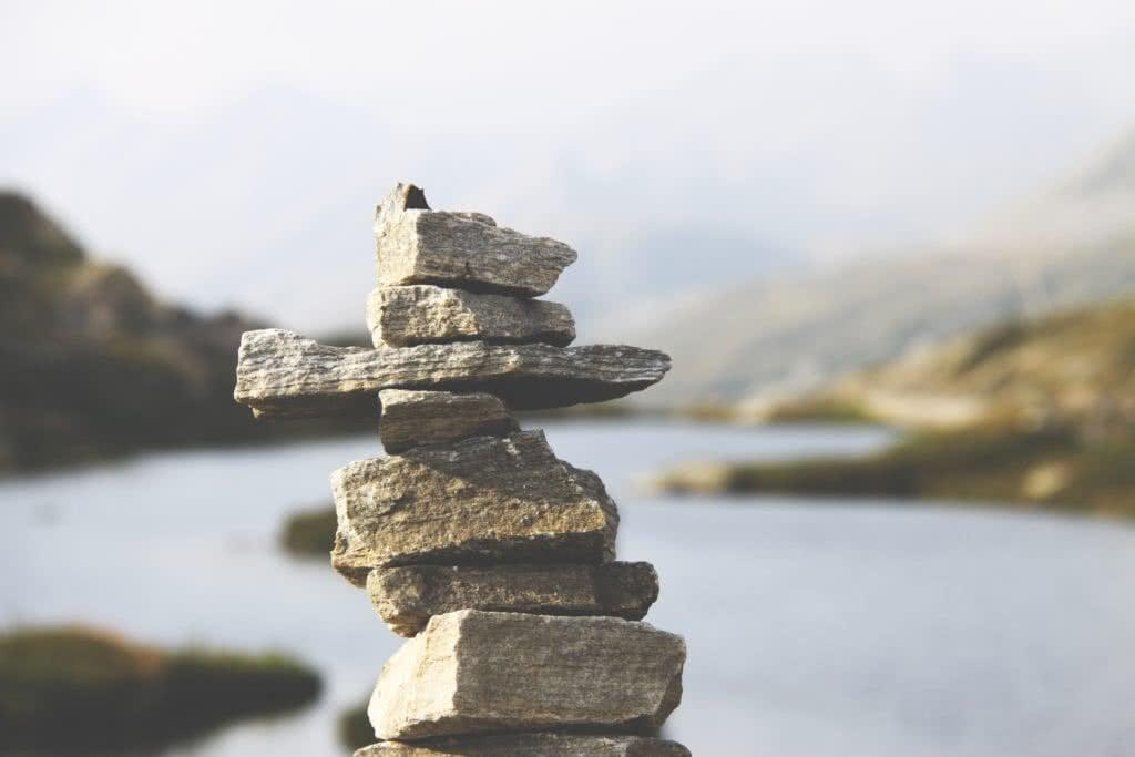 holding onto balance