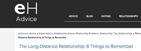 Tips to keep a long distance relationship alive
