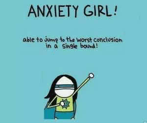 anxiety girl humor