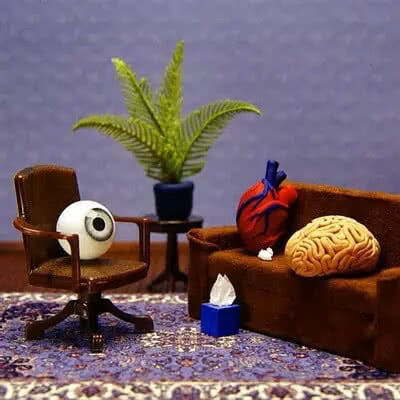 brain and heart in therapy