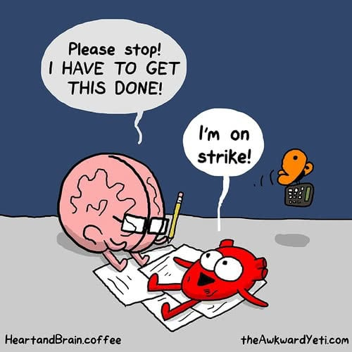 brain and heart strike