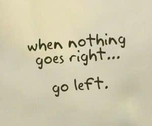 go left humor