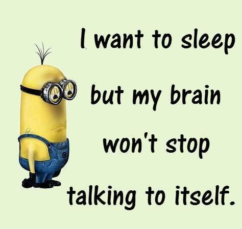 minions insomnia