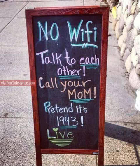 no wifi humor
